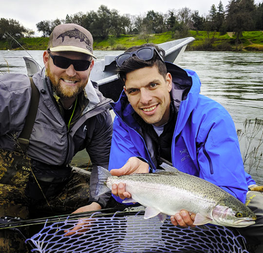 The American River is a great place to fish just minutes from downtown Sacramento.