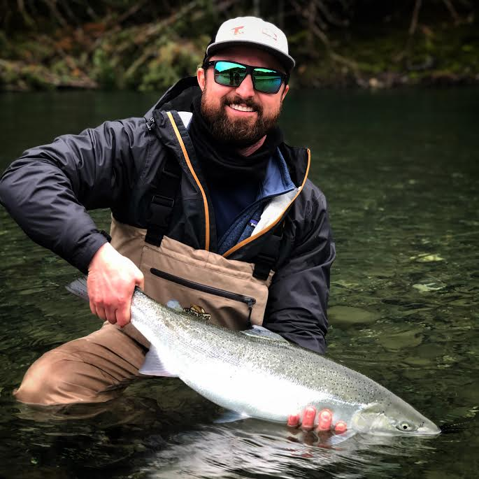 A big steelhead from the North Coast