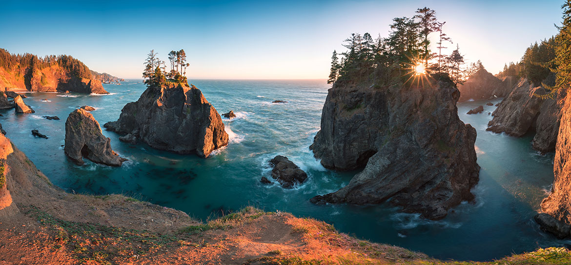 The southern Oregon coast has breathtaking scenery and some great steelhead fishing.